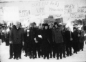 Decemberdemonstration i Malmberget 1969