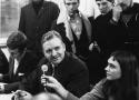 Elof Luspa från strejkkommittén 1969